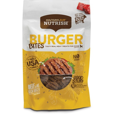Rachael Ray™ Nutrish® Tasty Real Meat Treats for Dogs Burger Bites