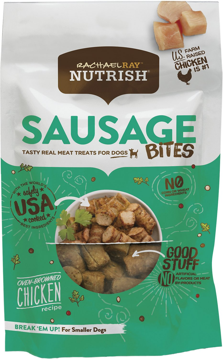 Rachael Ray™ Nutrish® Tasty Real Meat Treats for Dogs Sausage Bites