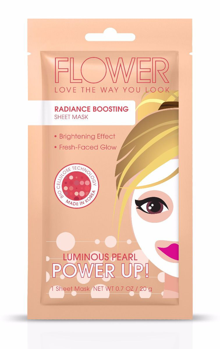 FLOWER Beauty Power Up! Radiance Boosting Sheet Mask