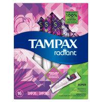 Tampax Radiant Super