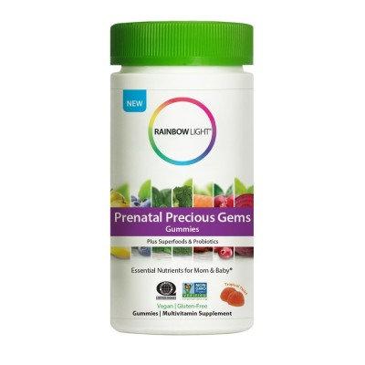 Rainbow Light Prenatal Precious Gems Gummies Non-GMO Project Verified