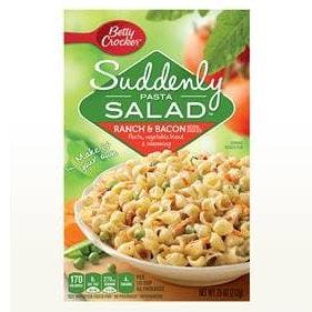 Betty Crocker™ Suddenly Pasta Salad™ Ranch and Bacon