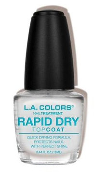 L.A. Colors Rapid Dry Top Coat Treatment