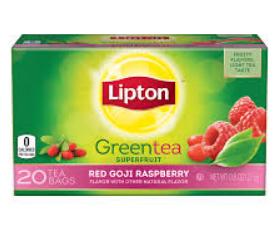 Lipton®  Red Goji And Raspberry Green Tea