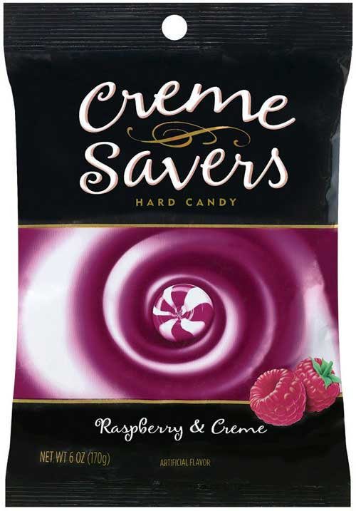 Creme Savers Raspberry & Cream