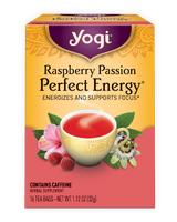 Yogi Tea Herbal Tea Raspberry Passion Perfect Energy