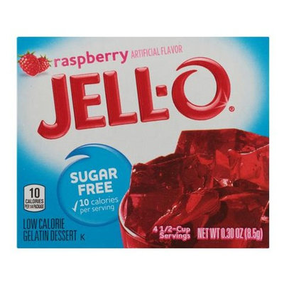 JELL-O Sugar Free Raspberry Gelatin Dessert