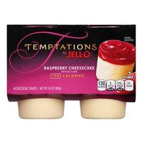 JELL-O Temptations Raspberry Cheesecake Cheesecake Snacks
