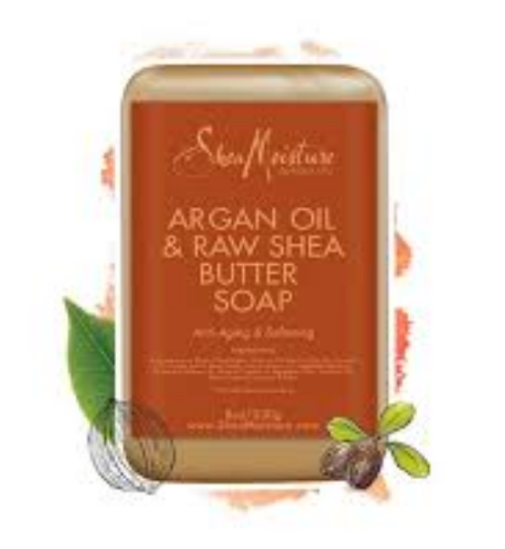 SheaMoisture Argan Oil & Raw Shea Butter Soap
