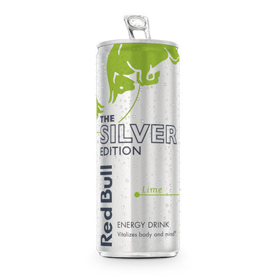 Red Bull Silver Edition Energy Drink