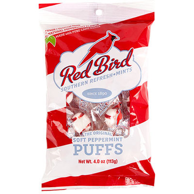 Red Bird Soft Peppermint Puffs