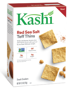 Kashi® Red Sea Salt Teff Thins Snack Crackers