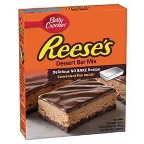 Betty Crocker™ REESE'S™ No Bake Dessert Bar Mix