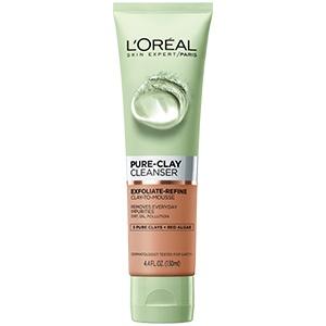 L'Oréal Paris Pure-Clay Exfoliate & Refine Cleanser