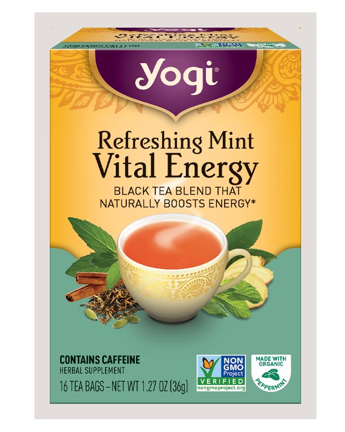 Yogi Tea Refreshing Mint Vital Energy
