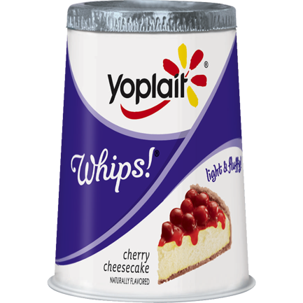 Yoplait® Whips Cherry Cheesecake Lowfat Yogurt Mousse