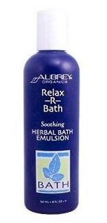 Aubrey Organics Relax-R-Bath Soothing Herbal Bath Emulsion