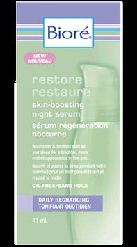 Bioré Restore Skin Boosting Night Serum