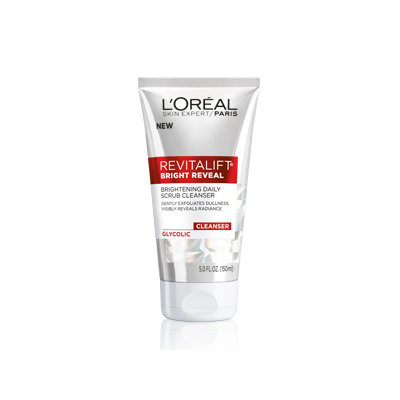 L'Oréal Paris RevitaLift® Bright Reveal Brightening Daily Scrub Cleanser