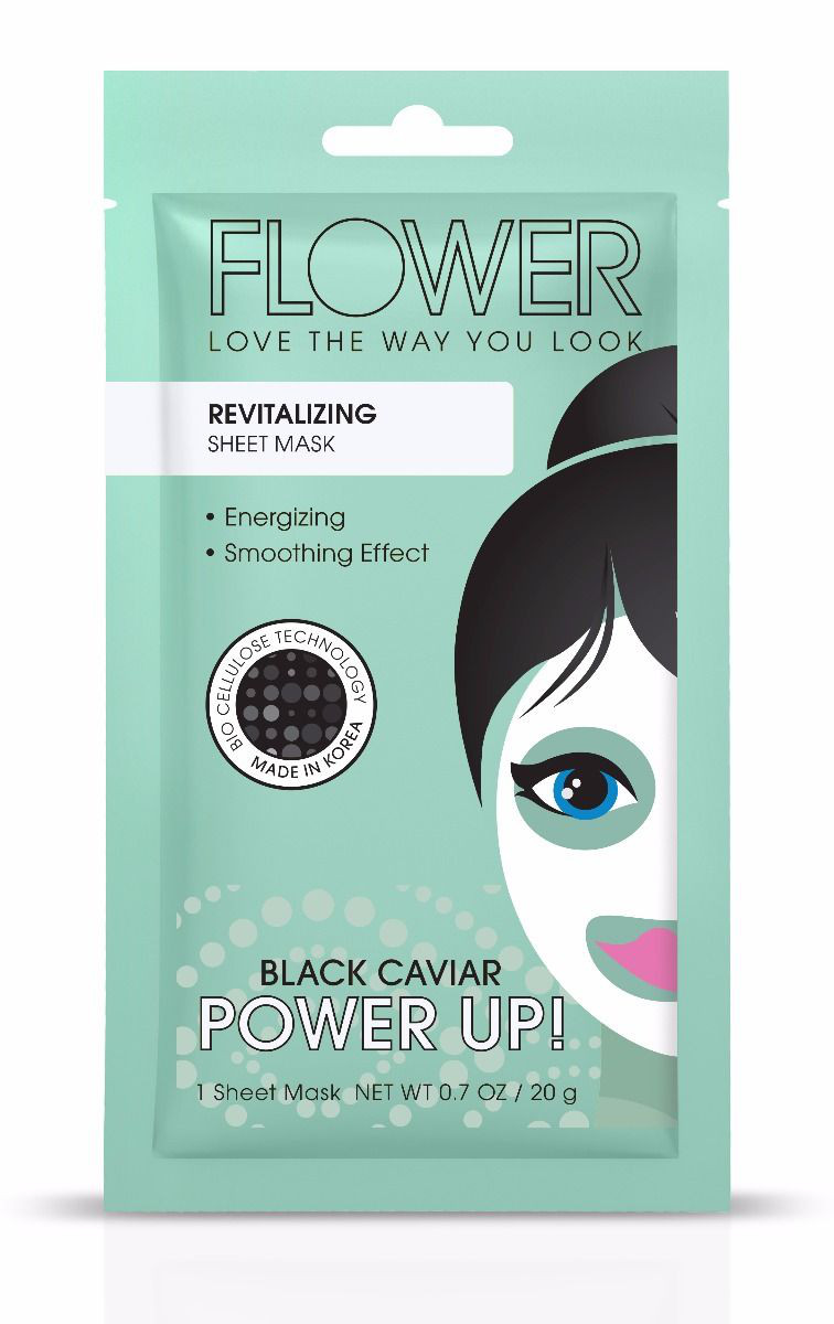 FLOWER Beauty Power Up! Revitalizing Sheet Mask