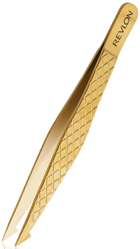 Revlon Gold Series Titanium Coated Slant Point Tweezer