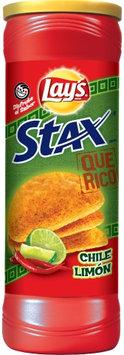 LAY'S® STAX® Que Rico Chile Limon Flavored Potato Crisps