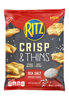 Nabisco RITZ Crisp & Thins Bacon Sea Salt