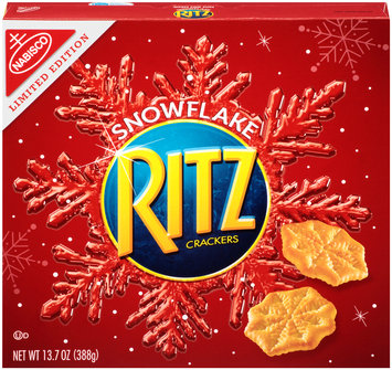 Nabisco RITZ Crackers Snowflake