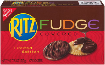 Nabisco RITZ Crackers Fudge Covered