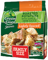 Green Giant® Steamers Roasted Potatoes With Garlic & Herb Sauce