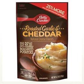 Betty Crocker™ Roasted Garlic & Cheddar Mashed Potatoes