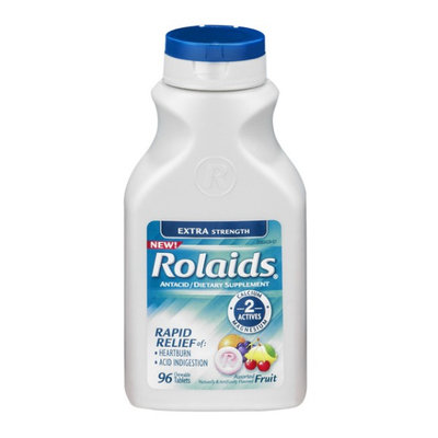 Rolaids Extra Strength Assorted Fruit Chewable Tablets