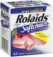 Rolaids Extra Strength Softchews Wild Cherry