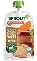 Sprout Root Vegetables Apple with Beef Organic Baby Food