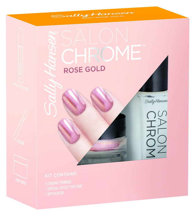 Sally Hansen 174 Salon Chrome Nail Polish Reviews 2019