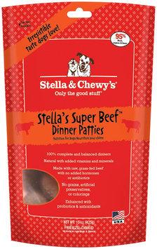 Stella Chewy S Stella & Chewy's Raw Freeze-Dried Dog Beef 16 oz