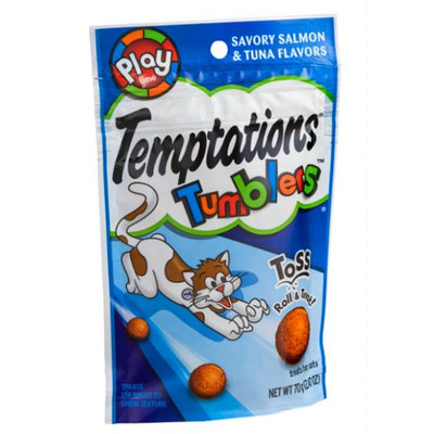 TEMPTATIONS™ Tumblers Savory Salmon And Tuna Treats For Cats