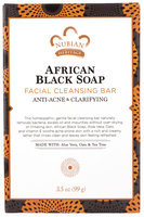 Nubian Heritage African Black Soap Facial Cleansing Bar Soap