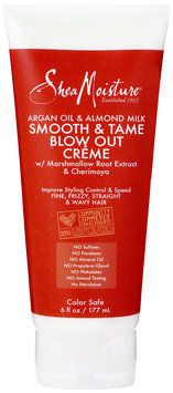 SheaMoisture Argan Oil & Almond Milk Smooth & Tame Blow Out Crème