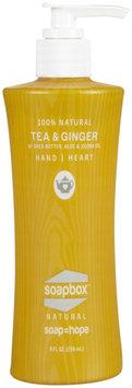 Soapbox Soaps - All Natural Liquid Hand Soap Tea & Ginger - 8 oz.