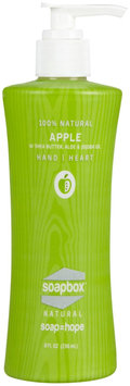 Soapbox Soaps - All Natural Liquid Hand Soap Apple - 8 oz.