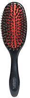 Denman Grooming Brush Natural Bristle with Nylon Quill