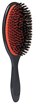 DENMAN Grooming Brush with 100% Natural Boar Bristle