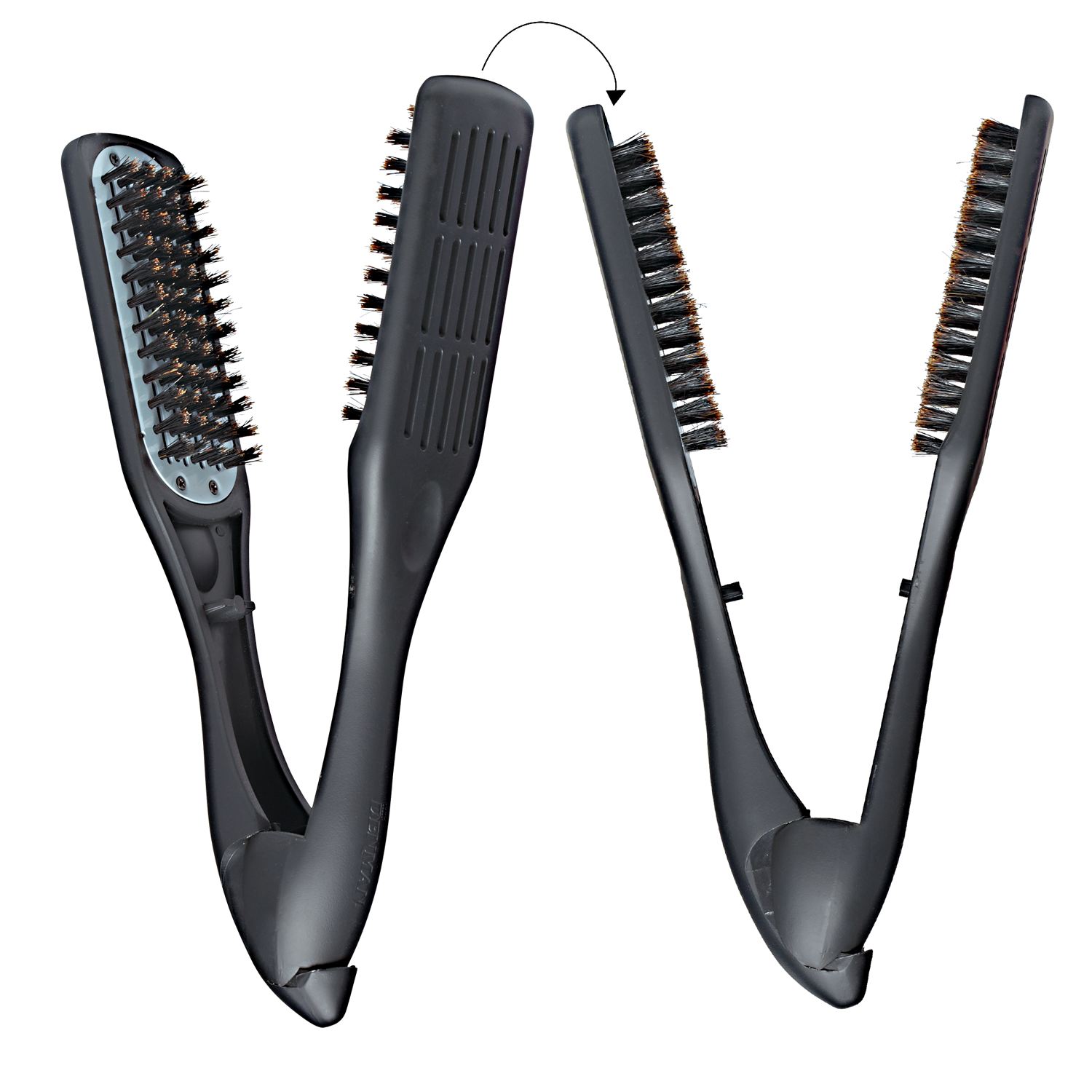 Denman ThermoCeramic Straightening Brush w. Boar Bristle