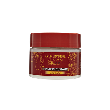 Creme of Nature with Argan Oil Twirling Custard