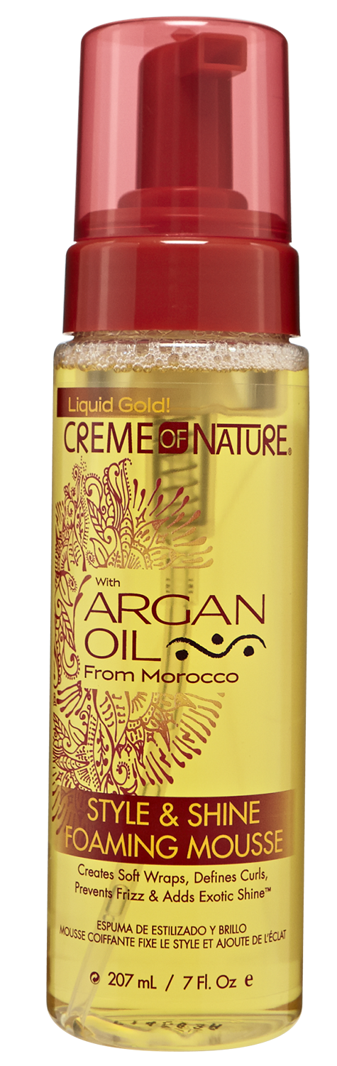Creme of Nature Argan Oil Foaming Wrap Lotion