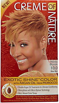 Creme of Nature Exotic Shine Color 10.0 Honey Blonde