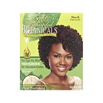 Soft & Beautiful Botanicals No Lye Hair Texturizer Kit