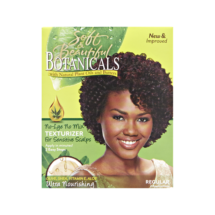 Soft Beautiful Botanicals No Lye Hair Texturizer Kit Reviews