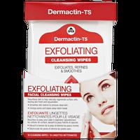 Dermactin-TS Exfoliating Facial Wipes